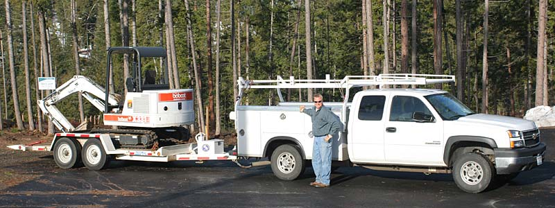 Jason Gokey, owner-operator and septic system expert